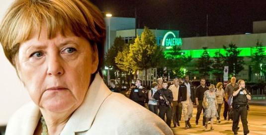 Merkel Atacul de la Munich