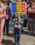 Protest la bruxelles pentru sustinerea Familiei Barbu6