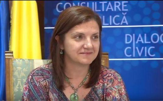 Raluca Pruna Ministrul Justitiei FOTO Adevarul