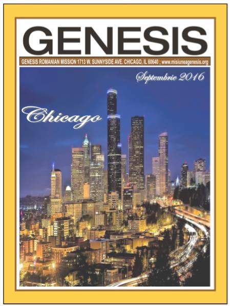 Citeste Revista Genesis – Editia Septembrie, 2016