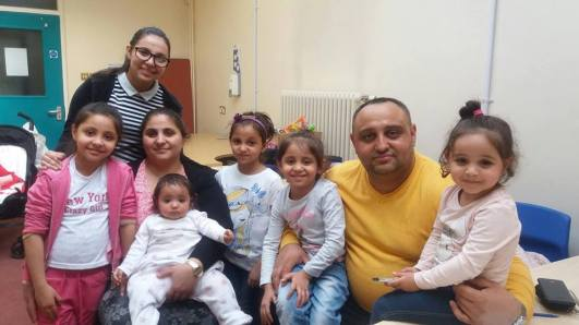 Familia Raj Manolache