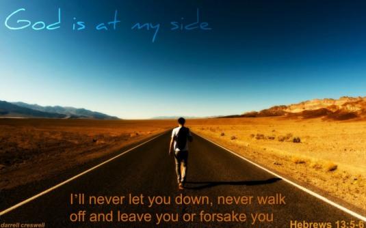 FOTO heulu.wordpress.com Evrei 13:5-6