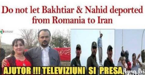 Romanian Iranian family Bakhtiar & Nahid