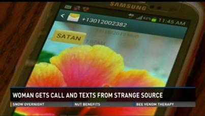 satan call