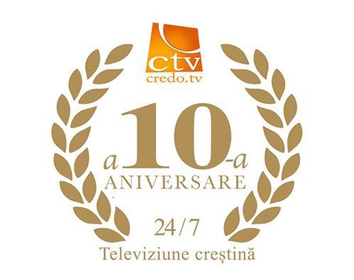 CREDO TV a 10-a aniversare 2016