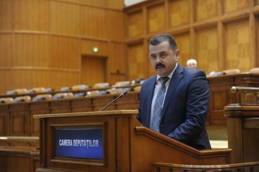 Deputatul Gheorghe Bogdan  (FOTO Comisarul de Bihor)