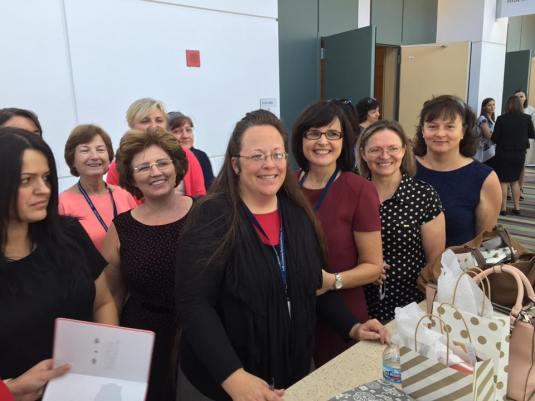 Kim Davis - Conferinta femeilor Chicago Conventie 2016 FOTO Ligia Berci