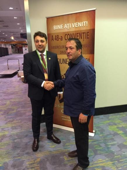 Senatorul Alfred Laurentiu a fost prezent la Convenția Bisericilor Penticostale române din SUA FOTO Stiri pe surse