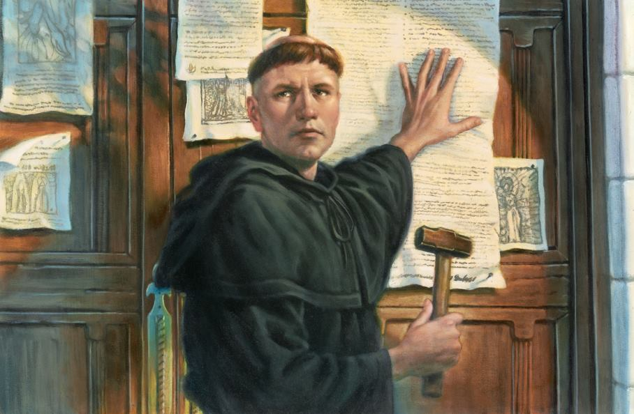 Martin luther 85 thesis
