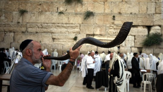 rosh-hashanah-israel-jerusalem-shofar FOTO cnn.com