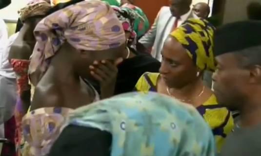 Boko Haram releases 21 girls in October 2016 FOTO ibtimes.uk.co