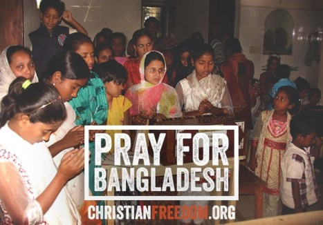 Pray for Bangladesh FOTO Christian Freedom Internationa