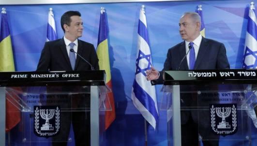 Grindeanu Israel cu Netanyahu Foto Nine o Clock