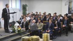 Studenții și o parte dintre cadrele didactice de la ITPB au slujit în biserica Emanuel din Sibiu.
