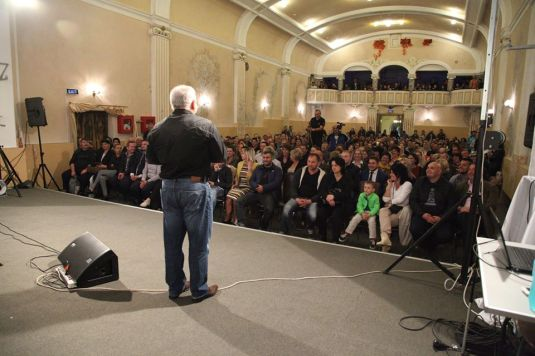 Vladimir Pustan Evanghelizare Vulcan Imax FOTO Ciresarii