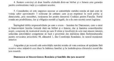 Rezoluția Conferinței Naționale a pastorilor din Cultul Creștin Penticostal - Biserica lui Dumnezeu Apostolică din România privind revizuirea Constituției în vederea prot