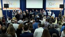 Biserica Lumina Lumii (Paris) - Program Aniversare 10 ani - PastorDaniel Todoran cu Invitati Pastor Cristian Sonea si BBSO 1