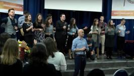 Biserica Lumina Lumii (Paris) - Program Aniversare 10 ani - PastorDaniel Todoran cu Invitati Pastor Cristian Sonea si BBSO 2
