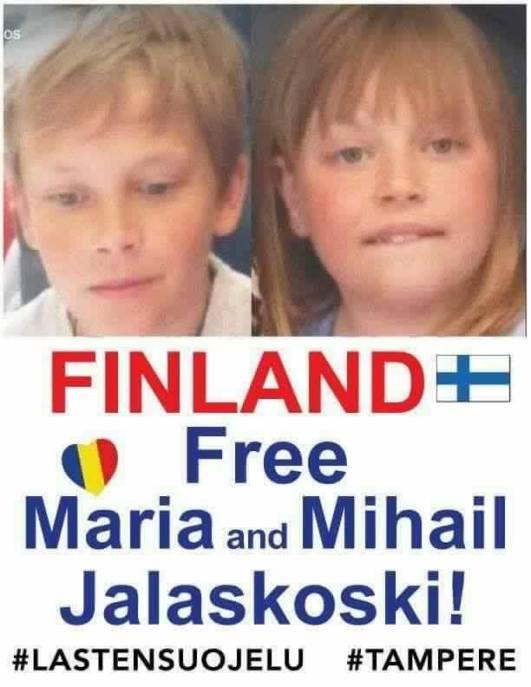 Finland free Maria and Mihail Jalaskoski FOTO FB