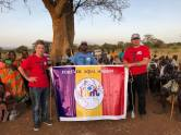 Forever Aqua Mission-Marian Volintiru cu Nicu Topan Ieri lângă Loro, Nakapiripirit District, Uganda