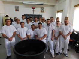 Botez Nou Testamental in Penitenciarul din Oradea foto Sorin Maier -