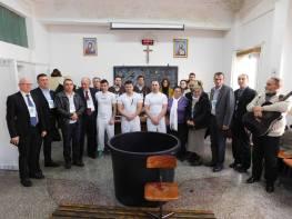Botez Nou Testamental in Penitenciarul din Oradea foto Sorin Maier