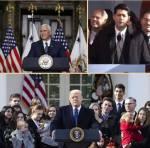 Trump, Pence, Ryan Marsul pentru viata2018