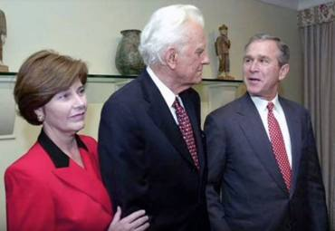 Billy Graham George Bush Jr Foto captura YT