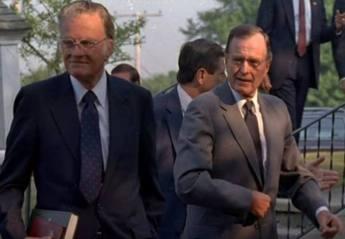 Billy Graham George W Bush Foto captura YT