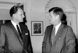 Billy Graham JFK Foto captura YT 1
