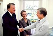 Billy Graham Jimmy Carter Foto captura YT