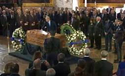 Billy Graham lie in Rotunda Washington DC Foto captura 8