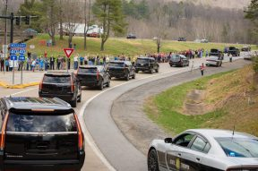 Billy Graham motorcade