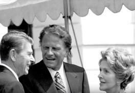 Billy Graham Ronald Reagan Foto captura YT