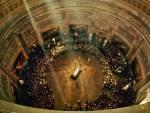 Capitol Rotunda casket lay in state od JFK 1963 fotoblogfinger.net