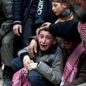 Siria war children foto Daily Beast