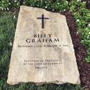 Billy Graham head stone foto Ionel L Tutac