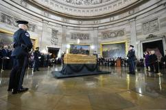 Billy Graham lie in honor at the Capitol Rotunda Feb 28 - March 1, 2018