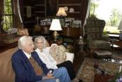 Billy Grahm and Ruth