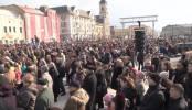 Coaliția pentru Familie - Adunare publică în Piața Unirii din Oradea [VIDEO Prodocens Media] 6
