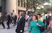 Dr. Robert Jeffress MARȘUL pentru VIAȚA VEȘNICĂ pe străzile orașului Dallas, Texas 1
