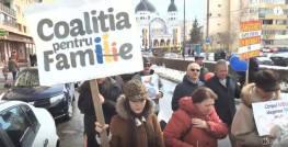 Marsul pentru viata Sibiu foto captura Agnus Dei 2