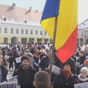Marsul pentru viata Sibiu foto captura Agnus Dei 7