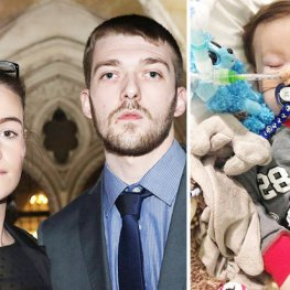 Alfie Evans UK foto Daily Star