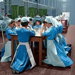 Anglia acum 70 de ani spital nurses UK