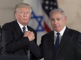 Netanyahu Trump foto NPR.org Jerusalem Israel