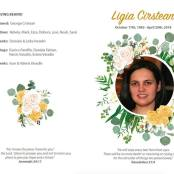 LIGIA CIRSTEAN program