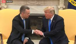 Brunson with Trump at White House foto captura youtube