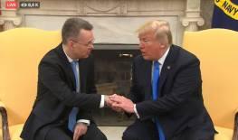 Brunson with Trump at White House foto captura youtube